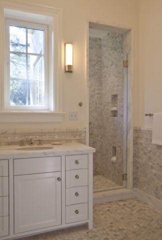 浴室美式风格装修图片