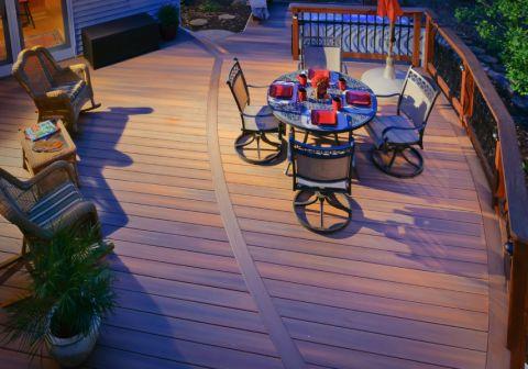 阳台美式风格装修图片