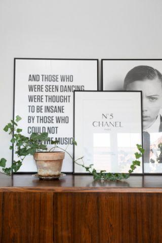 客厅北欧风格装饰图片