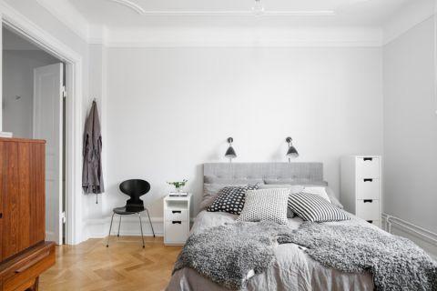 卧室北欧风格装潢设计图片