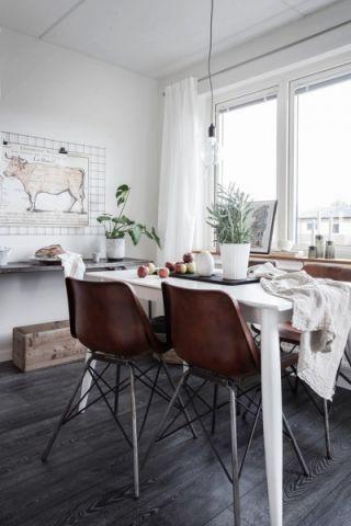 餐厅北欧风格装潢图片