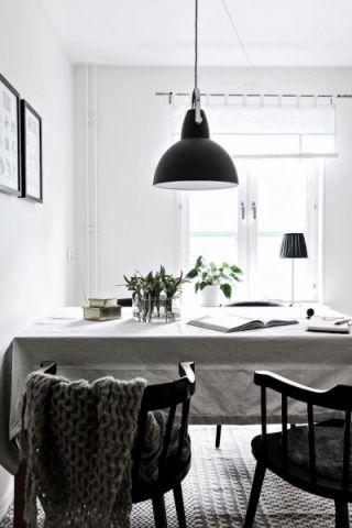 餐厅北欧风格装修效果图