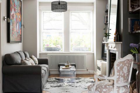 客厅美式风格效果图大全2017图片_土拨鼠精致唯美客厅美式风格装修设计效果图欣赏