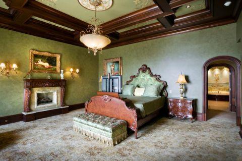 卧室地中海风格装潢图片