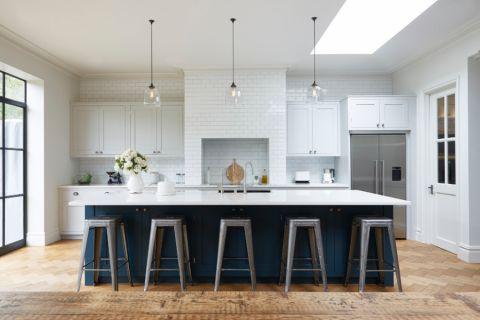 厨房美式风格效果图大全2017图片_土拨鼠时尚淡雅厨房美式风格装修设计效果图欣赏