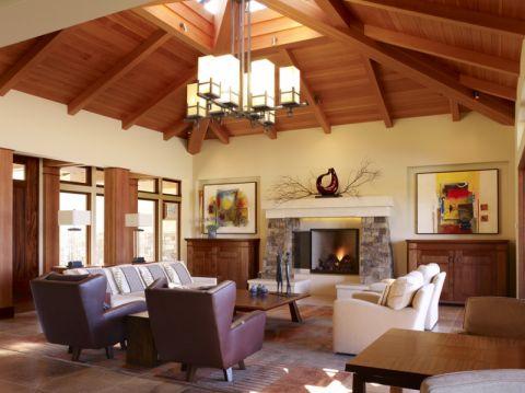 客厅现代风格效果图大全2017图片_土拨鼠美好雅致客厅现代风格装修设计效果图欣赏