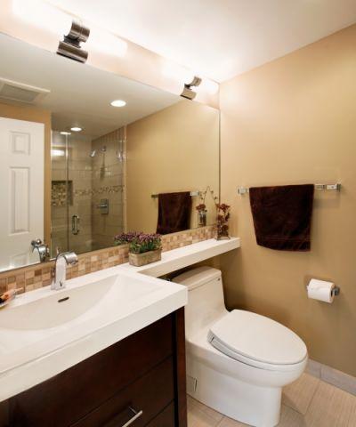 浴室混搭风格效果图大全2017图片_土拨鼠文艺自然浴室混搭风格装修设计效果图欣赏