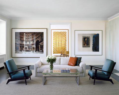 客厅混搭风格效果图大全2017图片_土拨鼠干净风雅客厅混搭风格装修设计效果图欣赏