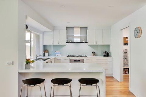 厨房现代风格效果图大全2017图片_土拨鼠休闲自然厨房现代风格装修设计效果图欣赏