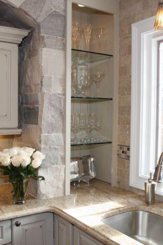 厨房美式风格装潢设计图片