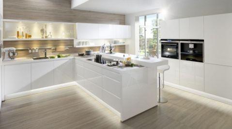 厨房现代风格效果图大全2017图片_土拨鼠美感摩登厨房现代风格装修设计效果图欣赏