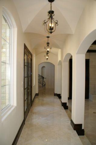 走廊地中海风格效果图大全2017图片_土拨鼠奢华质朴走廊地中海风格装修设计效果图欣赏