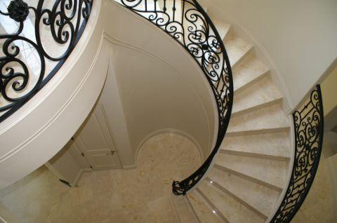 楼梯地中海风格装潢图片