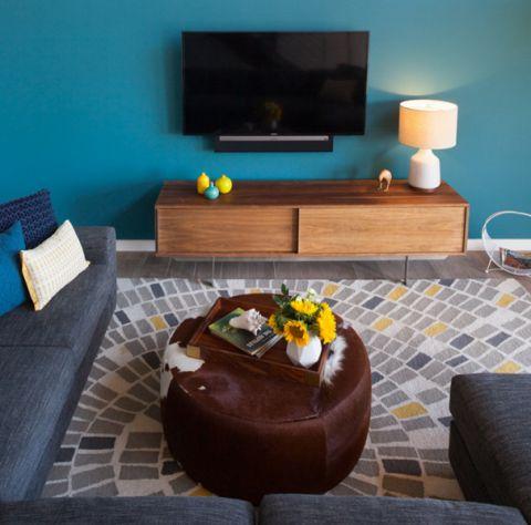 客厅现代风格装饰效果图
