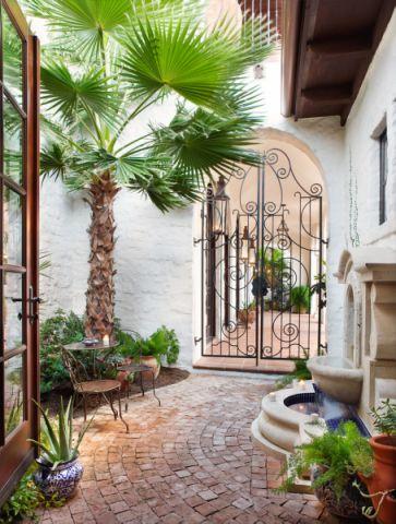 阳台地中海风格装饰设计图片