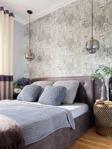 卧室现代风格效果图大全2017图片_土拨鼠豪华写意卧室现代风格装修设计效果图欣赏