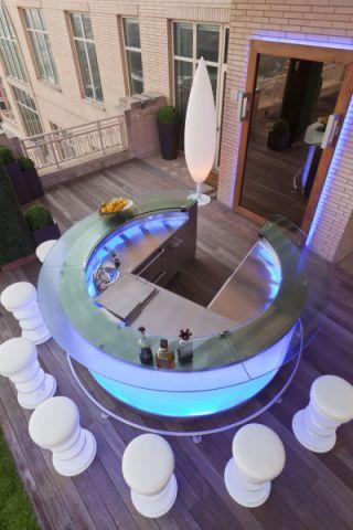 阳台现代风格装饰效果图