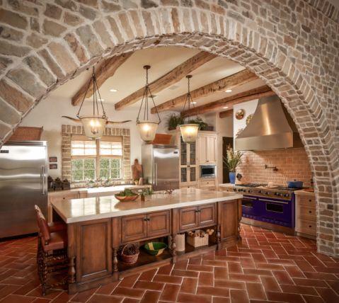 厨房地中海风格装饰效果图