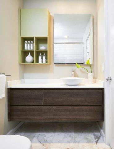 浴室现代风格装修图片
