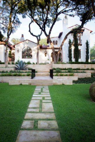 花园地砖地中海装修效果图