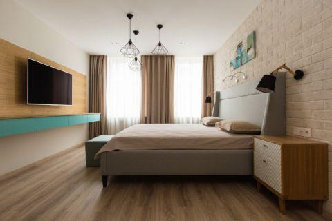 卧室现代风格效果图大全2017图片_土拨鼠奢华写意卧室现代风格装修设计效果图欣赏