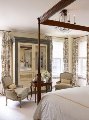 卧室美式风格装修图片