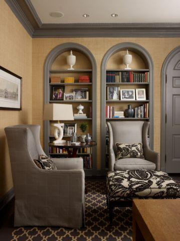 书房美式风格装饰图片