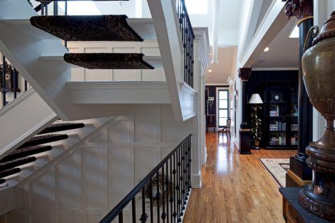 走廊美式风格效果图