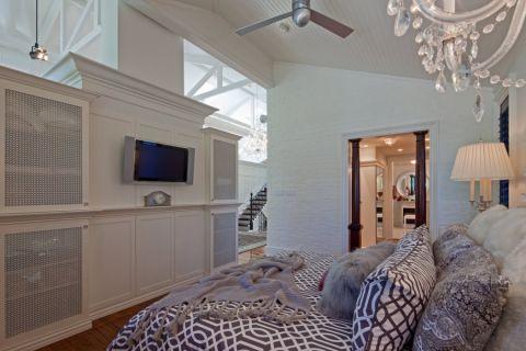 卧室美式风格装潢效果图