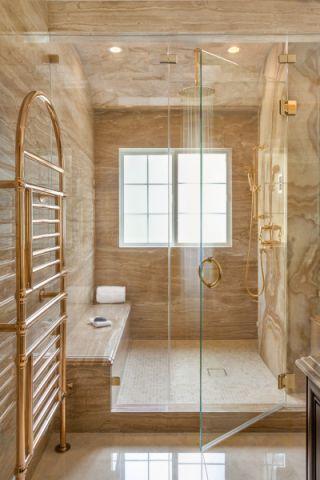 浴室美式风格效果图大全2017图片_土拨鼠极致个性浴室美式风格装修设计效果图欣赏