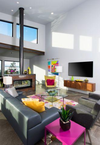 客厅现代风格装修设计图片