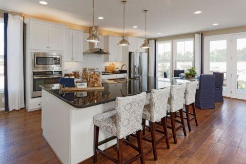 厨房美式风格装修图片