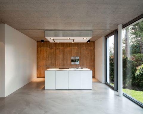 厨房现代风格效果图大全2017图片_土拨鼠时尚格调厨房现代风格装修设计效果图欣赏