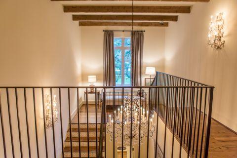 楼梯地中海风格效果图大全2017图片_土拨鼠简洁个性楼梯地中海风格装修设计效果图欣赏