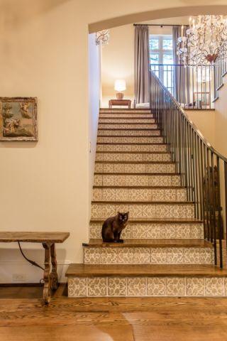 楼梯地中海风格效果图
