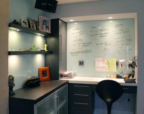 书房背景墙现代风格装饰图片