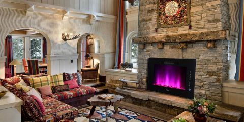 客厅混搭风格装饰图片