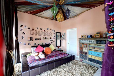 儿童房混搭风格效果图大全2017图片_土拨鼠清新纯净儿童房混搭风格装修设计效果图欣赏