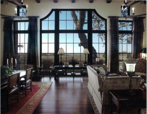 客厅地中海风格装饰设计图片