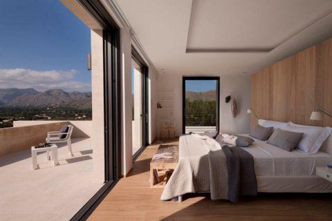 卧室现代风格效果图大全2017图片_土拨鼠唯美质感卧室现代风格装修设计效果图欣赏