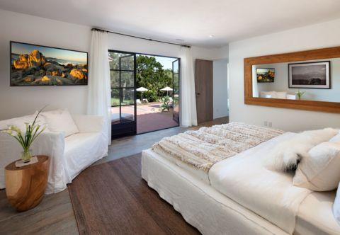 卧室地中海风格效果图大全2017图片_土拨鼠现代自然卧室地中海风格装修设计效果图欣赏