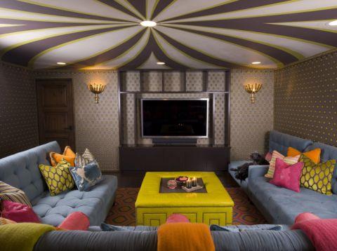 客厅地中海风格装饰效果图