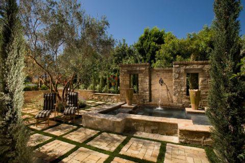 外景外墙地中海风格装饰效果图
