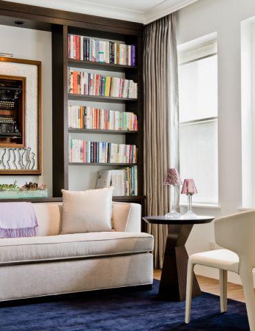 书房现代风格效果图
