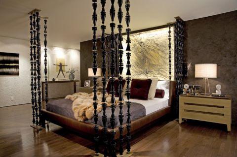 卧室现代风格效果图大全2017图片_土拨鼠唯美迷人卧室现代风格装修设计效果图欣赏
