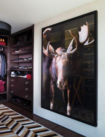 衣帽间背景墙现代风格装饰设计图片