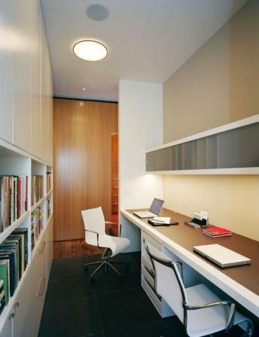 书房现代风格装潢设计图片