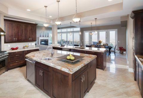 厨房混搭风格装修效果图