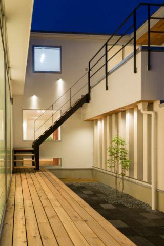 阳台现代风格装饰图片