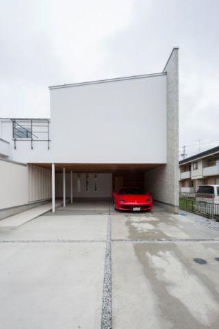 车库现代风格装饰效果图